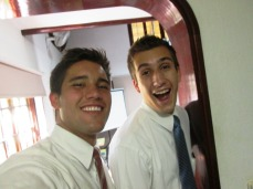 Elder Bender goes home today!